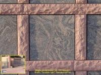 350 Magma sandsteinrot mit Paradiso feingeschliffen 350