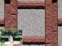 Magma sandsteinrot mit Rosa cinzia sandgestrahlt sonnig 350