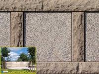 351 Magma sandsteingelb mit Jaune aurore sandgestrahlt sonnig 351