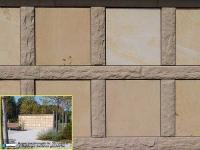 351 Magma sandsteingelb mit Seeberger Sandstein fein geschliffen 351