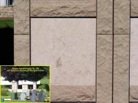 351 Magma sandsteingelb mit Massengis fein geschliffe 351