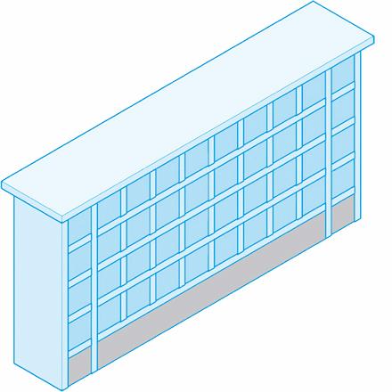 40 Standardkammern